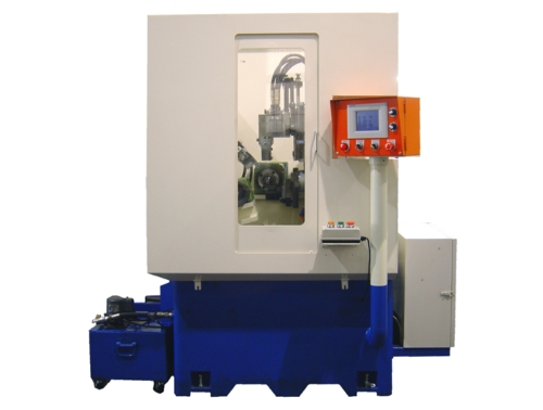 Vertical & Horizontal 3 in 1 Machining Center (O.D. Turning, Chamfering, & Grooving)