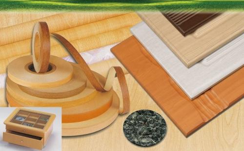 裝飾木紋印刷紙、PVC 塑膠膜面、PETG 塑膠膜面