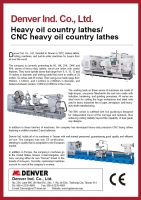 Heavy oil country lathes/CNC heavy oil country lathes