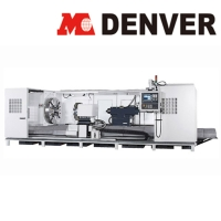 Multiple Guide Way Heavy Duty CNC Lathe (Flat Bed)