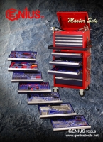 Cens.com Master Sets/Tool Trolley Set GENIUS TOOLS (TIAN FU INDUSTRIAL CO., LTD.)