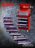 Cens.com Master Sets/Tool Trolley Set GENIUS TOOLS (TIAN FU INDUSTRIAL CO., LTD.)