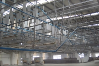 5ton Trolley Conveyor and Ssfty Steel Net (Wooden Furniture Coating)