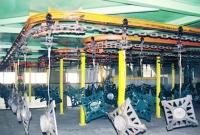 X-458 Metal Coating Conveyor System
