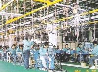 脚踏车轮圈组立和轮圈线输送机空储存线设备