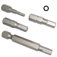 Hexagon Insert / Long / Tamper / Torsion Bits