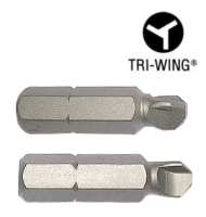 Tri-Wing(R) Insert / Long / ACR Bits