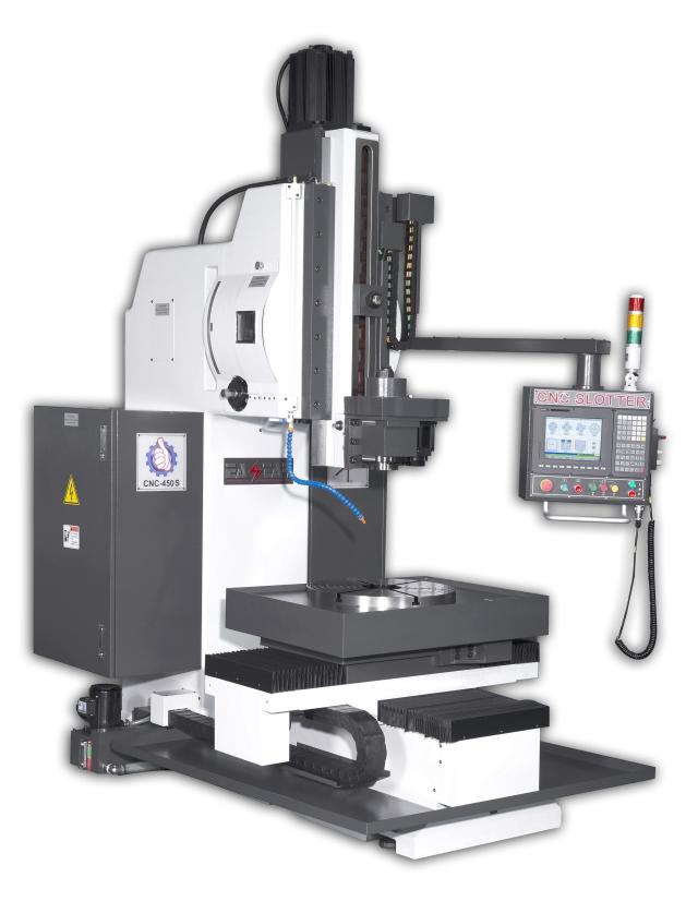 5 Axis CNC Slotter Machine