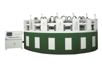 Curved Automatic Eva Foaming Injection Molding Machine