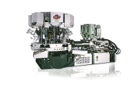 Three Colour Rotary Type Automatic Soles Jointing & Ejecting Machine
