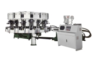 Single Colored Automatic Rotary Type Soles Jointing & Ejecting Machine