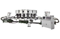 Two Colour Rotary Type Automatic Soles Jointing & Ejecting Machine
