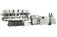 Rotry Type Automatic PU Single Density Injection Molding Machine