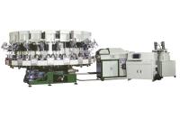 Rotry Type Automatic PU Single Density Injection Molding Machine