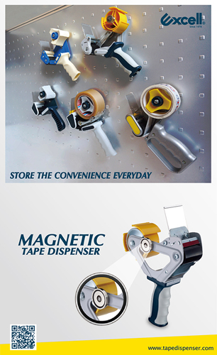 MAGNETIC TAPE DISPENSERS