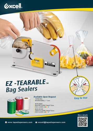 EZ- TEARABLE BAG SEALER