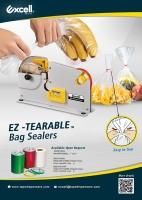 EZ- TEARABLE BAG SEALER
