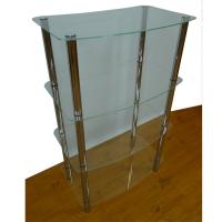 4-Layer Glass Shelf (4 Iron Tubes)
