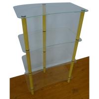 4层式玻璃架(3支铁脚)