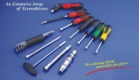 Hex-key wrenches/Screwdrivers/T-bend socket wrenches