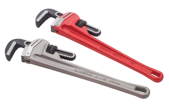 Heavy-duty Pipe Wrench / Pipe Wrench