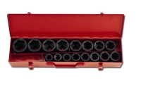 Impact socket sets