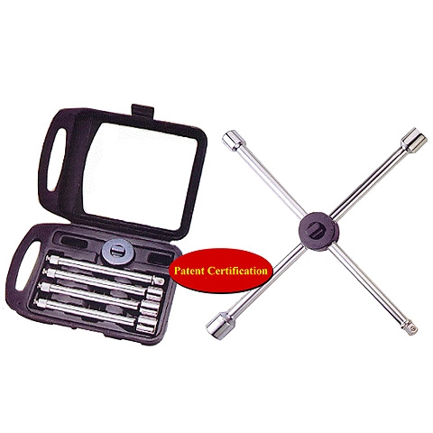 Detachable Vehicle Tire Wrench