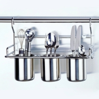 Utensil/Spoon Holder With Quivers