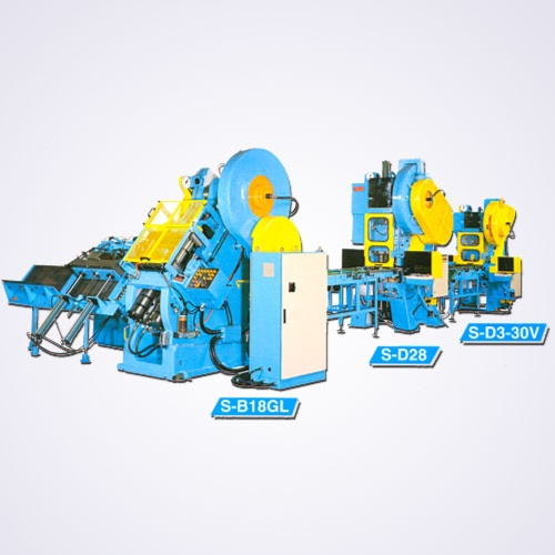 Automatic Can Body Drawing Machine + Vertical Double Die Press.