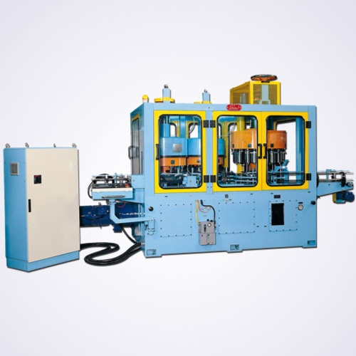 Automatic Vertical Single Necker with Flanger And Beader ( Two Roll Type )