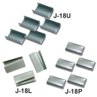Steel band metal clip & Plastic band metal clip