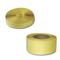 Plastic band strapping