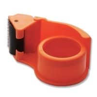 Plastic tape stand cutter