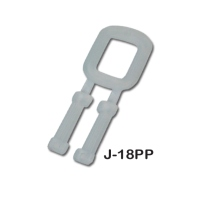 Plastic band clip