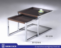 Cens.com Nesting Tables SY-1219, SY-1219-S SHOW EACH INDUSTRY CO., LTD.