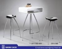 Bar Table & Stools SY-1185WH+SY-1186