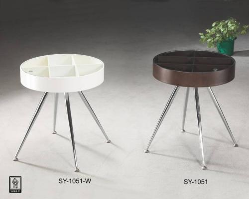 咖啡圆桌(白/黑) SY-1051+SY-1051W
