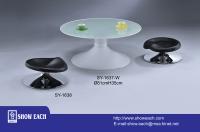 CENS.com Table & Stool SY-1637-W, SY-1638