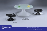 Table & Stool SY-1637-W, SY-1638