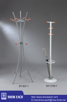 Cens.com Clothing / Hat / Umbrella Rack SY-527-1 +SY-1378-1 SHOW EACH INDUSTRY CO., LTD.