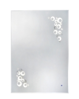 LED One-Touch Defogging Mirrors