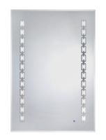 LED One-Touch Defogging Mirror