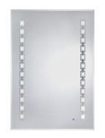 LED光學觸控除霧鏡