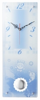 Swings the pendulum clock - double-decked