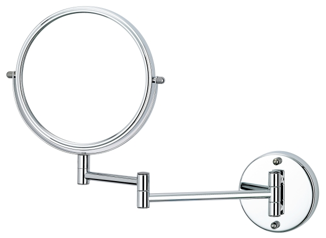 Two-sided expansion vanity mirrors