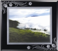 Phoenix mirror frame(Black)