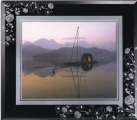 Rose mirror frame(Black/white)