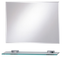 Classical hypoteneuse glass mirror
