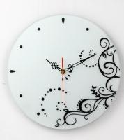 圓時鐘-噴砂