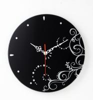 圓時鐘-鏡底